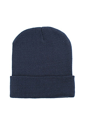 "OTTOCAP/오토캡 Superior Cotton Knit Beanie 12"" (Navy)"