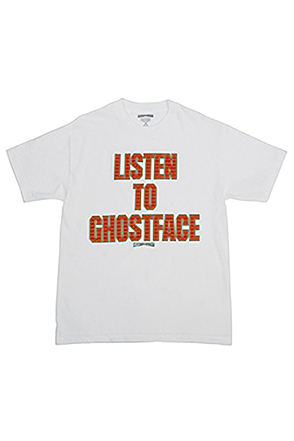 Mighty Healthy/마이티 헬씨 14FA Ghostface Tee (White)