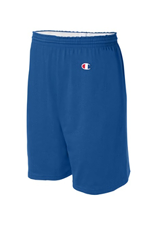 Champion/챔피언 8187 Cotton Gym Shorts (Royal Blue)