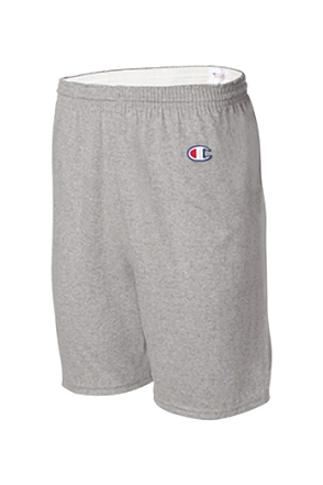 Champion/챔피언 8187 Cotton Gym Shorts (Oxford Grey)