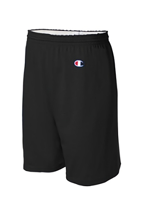 Champion/챔피언 8187 Cotton Gym Shorts (Black)