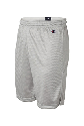 Champion/챔피언 8731 Polyester Mesh Short (Athletic Gray)