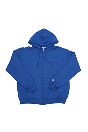 Champion/챔피언 S800 9 oz., 50/50 Eco Full-Zip Hooded Fleece (Royal)