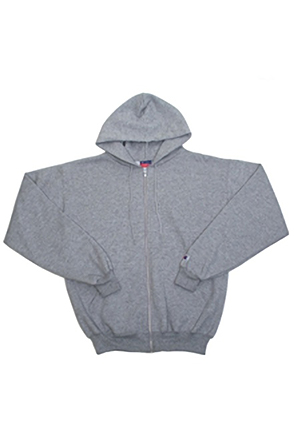 Champion/챔피언 S800 9 oz., 50/50 Eco Full-Zip Hooded Fleece (Light Steel)