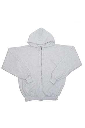Champion/챔피언 S800 9 oz., 50/50 Eco Full-Zip Hooded Fleece (Ash)