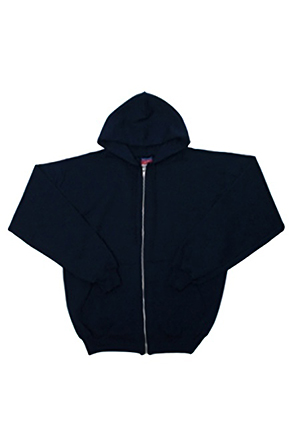 Champion/챔피언 S800 9 oz., 50/50 Eco Full-Zip Hooded Fleece (Navy)