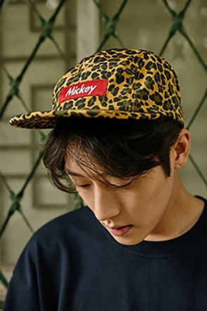 LEOPARD MICKY CAMPCAP레오파드 미키 캠프캡[2color / one size]