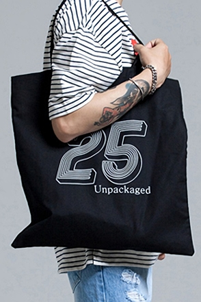 TWENTY FIVE BASIC ECHO BAG25 베이직 에코백[2color / one size]