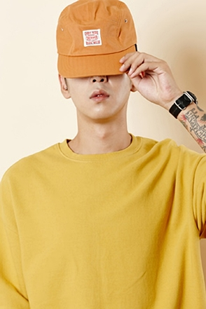PATCH COLOR CAMP CAP 패치 컬러 캠프 캡 [6color / one size]