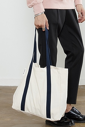 WEBBING B TOTE BAG 웨빙 비 토드 백 [4color / one size]