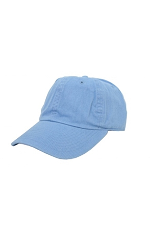 Champion/챔피언 CH4001 Bio-Washed Twill Cap (Carolina Blue)