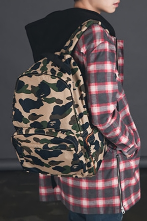 CAMO PATTERN BACKPACK카모패턴 백팩[2color /one size]