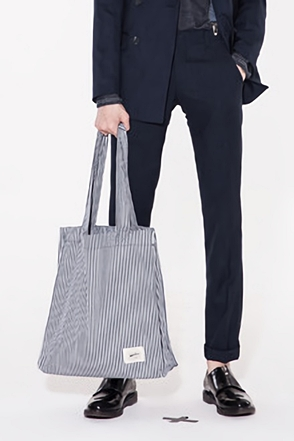 STRIPE SHOULDER BAG스트라이프 숄더 백[2color / one size]