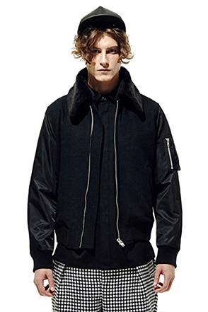 IRONY PORN(O) MA-1 Jacket