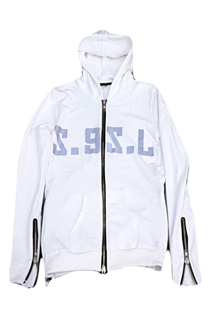 Surgical Steel/써지컬스틸 3M HOODIE ZIP UP 15SSHD05WH (WHITE)
