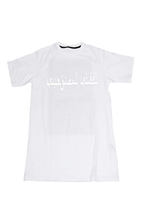 Surgical Steel/써지컬스틸 FUCKING MONDAY T-SHIRTS 15SSTS10WH (WHITE)