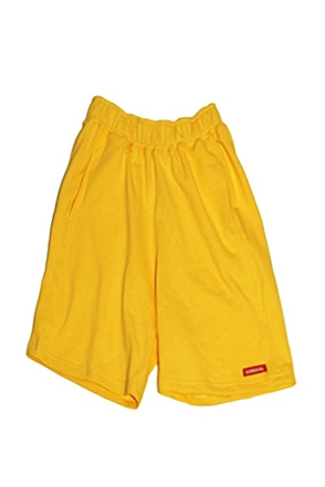 Surgical Steel/써지컬스틸 SIMPLE COLORFUL SHORT PANTS (YELLOW)