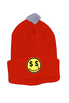 Surgical Steel/써지컬스틸 SMILE BEANIE 15SSBN01RD (RED)