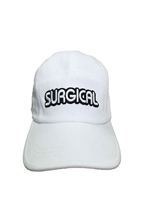 Surgical Steel/써지컬스틸 LOGO CAMP CAP 15SSCC01WH (WHITE)