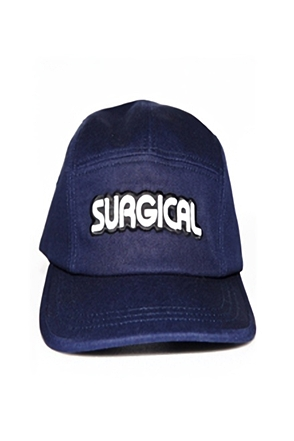 Surgical Steel/써지컬스틸 LOGO CAMP CAP 15SSCC01NA (NAVY)