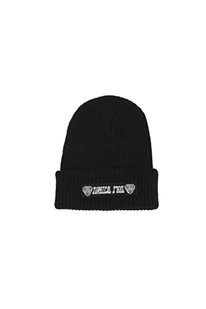 Surgical Steel/써지컬스틸 [SGSL][SURGICAL STEEL] CLASSIC LOGO BEANIE (Black)