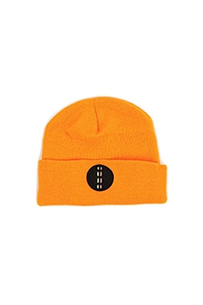 Surgical Steel/써지컬스틸 [SGSL][SURGICAL STEEL] LOGO SHORT BEANIE (Yellow)
