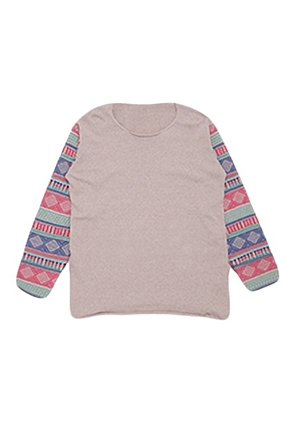 Skulllism/스컬리즘 ETHNIC ARM KNIT (Beige)  50% SALE