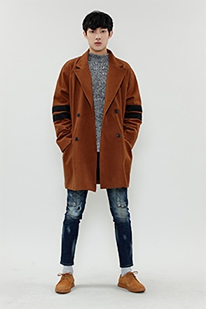 ARM LINE COAT 팔 라인 코트 [2color / one size]