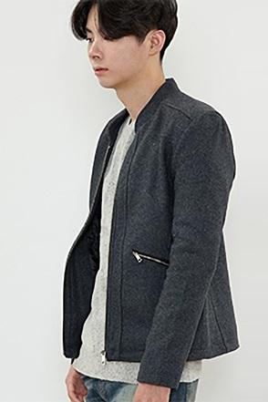 숏 울 싱글 자켓 [2color / 2size]