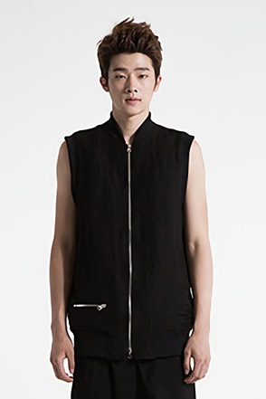 IRONY PORN(O)VOYEUR LABEL2Way Zipper Vest