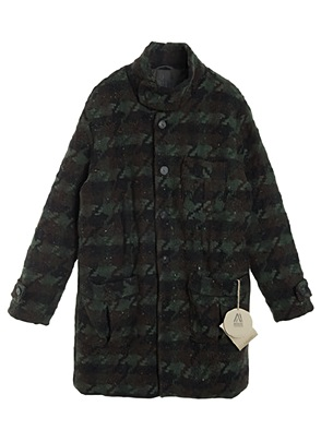 AWESOME IMAGINATIONVINTAGE KNIT SAFARI COAT