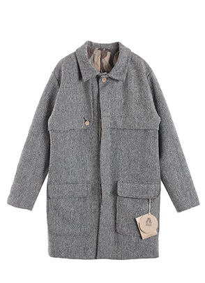 AWESOME IMAGINATIONLOOSE SINGLE TRENCH COAT