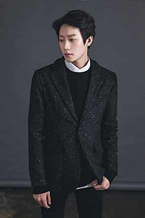 PATTERN SIMGLE JACKET 패턴 싱글 자켓[2color / 2size]