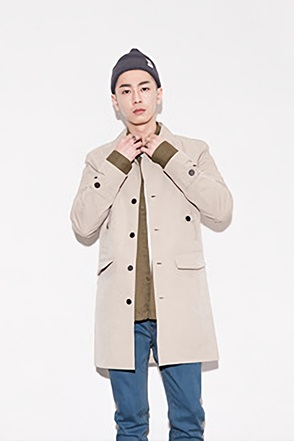 BUTTON FIELD COAT버튼 필드 코트[2color / 2size]