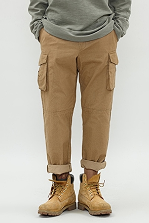 WASHING COTTON CARGO PANTS 콜린 워싱 코튼 카고 팬츠 [3color / 2size](H)